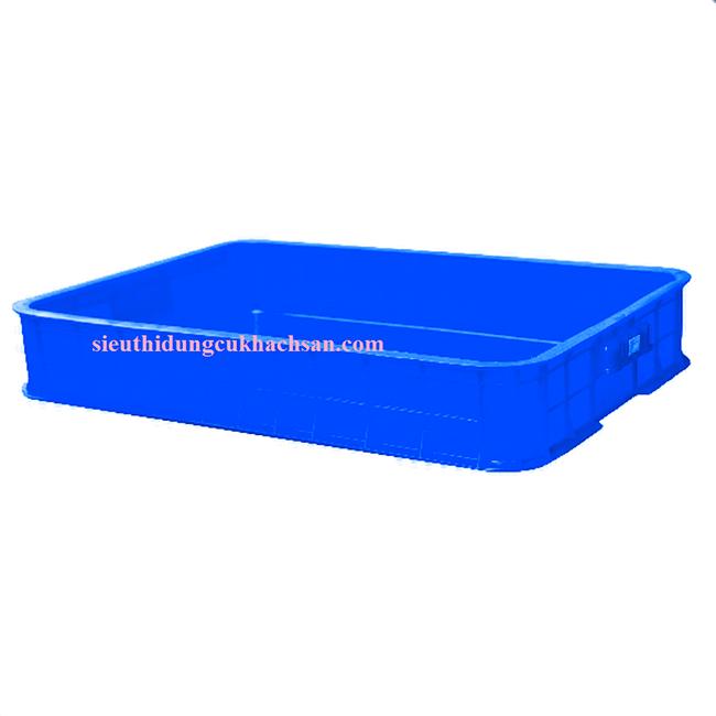 Sóng nhựa đặc màu xanh dương