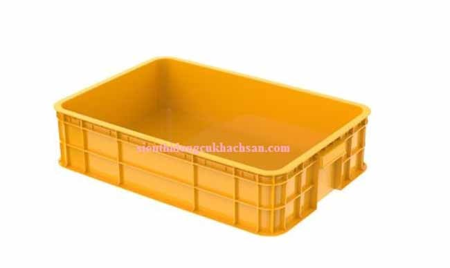 Sóng nhựa đặc màu vàng