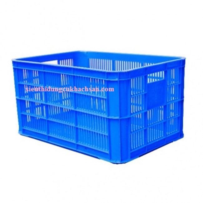 Sóng nhựa hở kích thước 610 x 420 x 390 mm