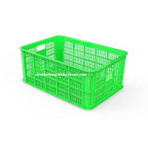 Sóng nhựa hở màu xanh lá cây
