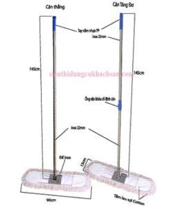 Bộ cây lau sàn STHM029