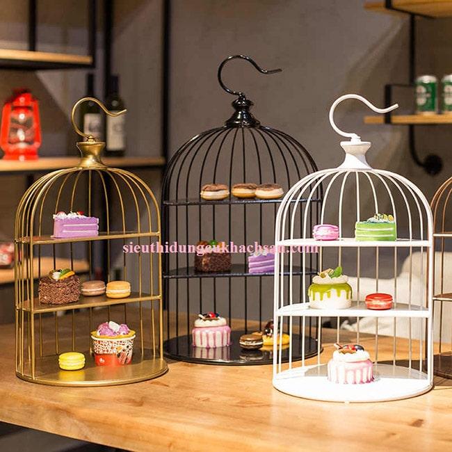 Lồng chim trưng bày buffet STHM070
