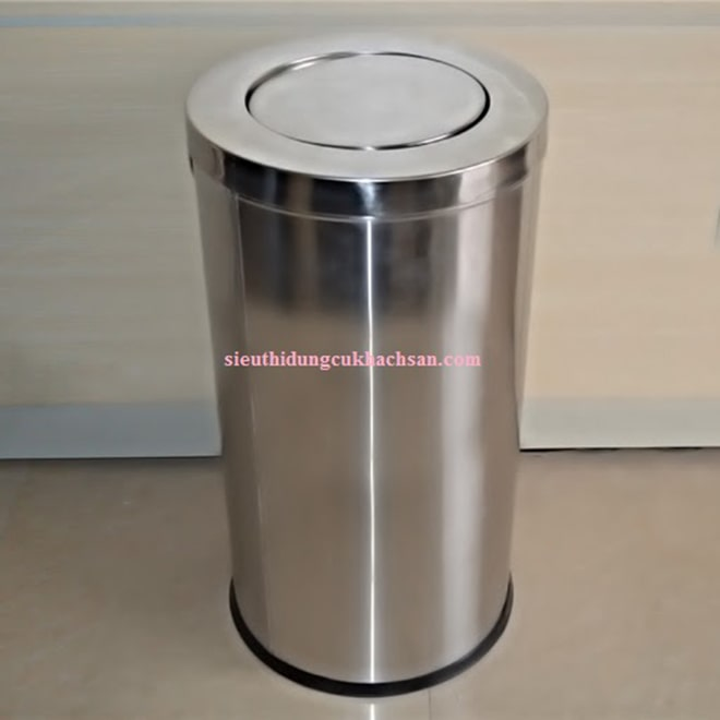 Thùng rác inox nắp lật ST692123