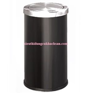 Thùng rác inox màu đen ST692129