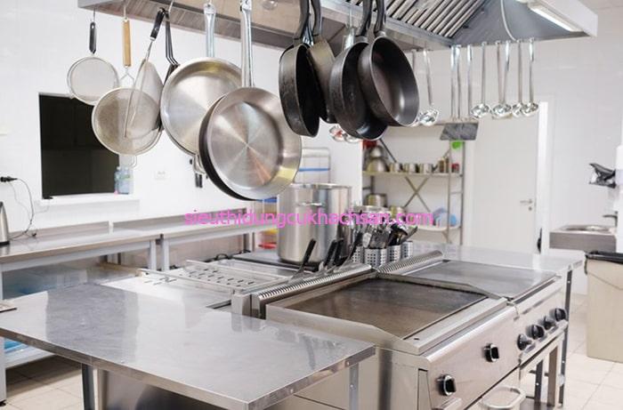 Các dụng cụ bếp nhà hàng
