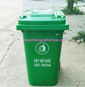 Thùng rác nhựa công nghiệp 60l