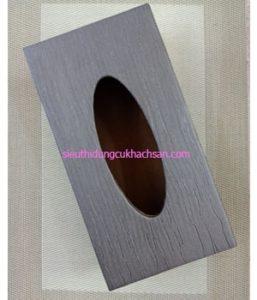 Hộp đựng khăn giấy hình chữ nhật