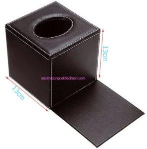 Kích thước của hộp đựng khăn giấy hình vuông cao cấp