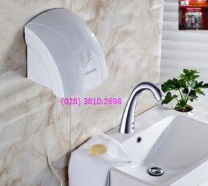Máy sấy khô tay tự động dùng ở nhà vệ sinh