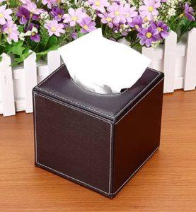 Hộp đựng khăn giấy hình vuông để bàn