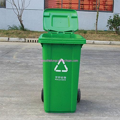 Thùng rác nhựa composite 240 L