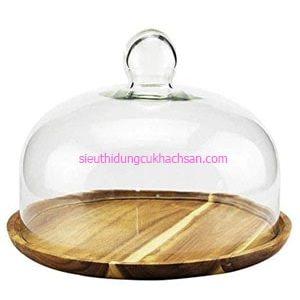 Đĩa gỗ đựng đồ ăn - TPHM0231 Thiết Bị Nhà Hàng Tín Phát tại TPHCM