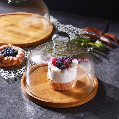 Khay gỗ trưng bày bánh
