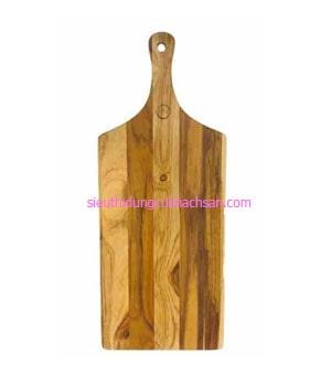 Thớt trang trí thức ăn bằng gỗ - TPHM0201 sử dụng ở nhà hàng