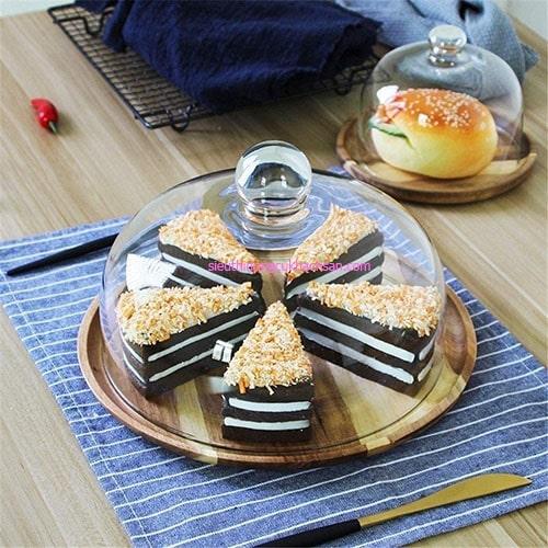 Khay trưng bày bánh tráng miệng