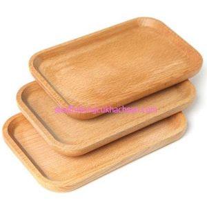 Thớt gỗ đựng thức ăn - TPHM0216 Dụng Cụ Bếp Nhà Hàng Tín Phát