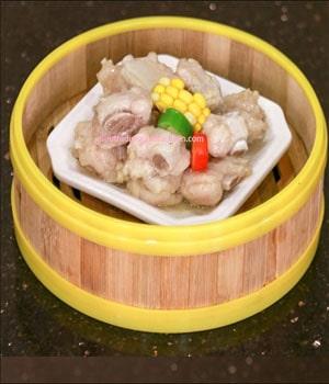 Xửng hấp há cảo bằng tre 18cm tại dụng cụ bếp nhà hàng Tín Phát