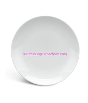 Đĩa sứ trắng tròn - 581880000
