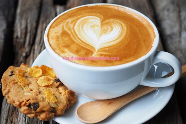 Tách cappuccino gốm sứ