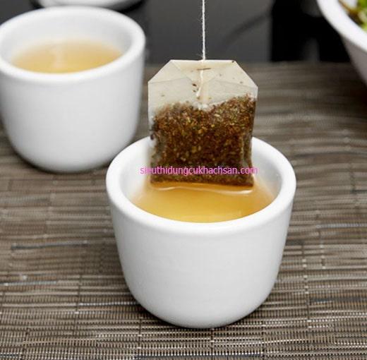Tách trà sứ không quai